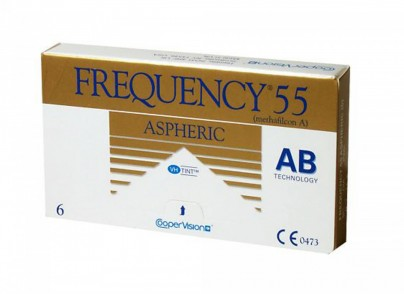 Best Price Frequency 55 Aspheric Contact Lenses 6 PK - Lowest Online Price!