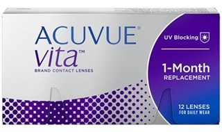 Best Price Acuvue VITA Contact Lenses (with HydraMax) Lowest Price Online!