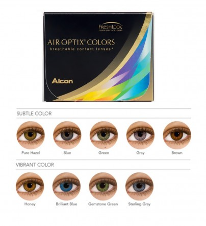Discount Price Air Optix Colors Contacts Lenses 2pk