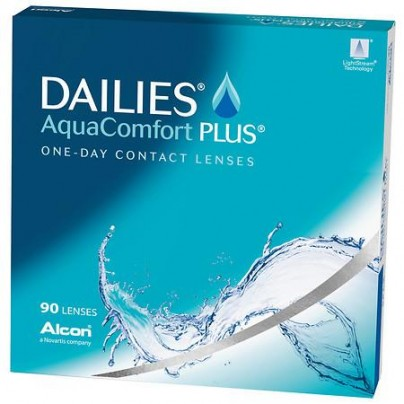 Best Price DAILIES AquaComfort Contact Lenses 90 PK - Lowest Online Price!
