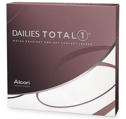 Best Price DAILIES TOTAL 1 Contact Lenses (90 Lens Pack) Water Gradient - by Alcon Ciba Vision