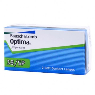 Optima 38 SP (2 Lens Pack) Contact Lenses - Best Price