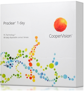 Best Price Proclear 1 DAY Contact Lenses 90 Pack - Lowest Price by CooperVision