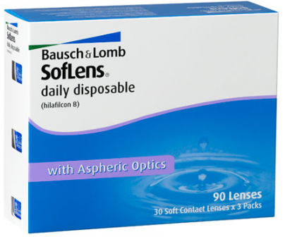 Best price SofLens DAILY Disposable Contact Lens 90 Pk - Lowest Online Price!