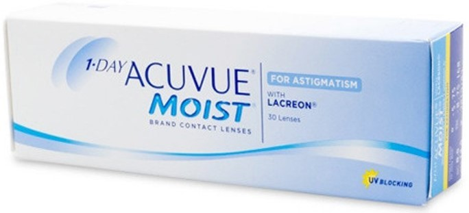 1 Day Acuvue Moist For Astigmatism Contacts 30 Lens Pack