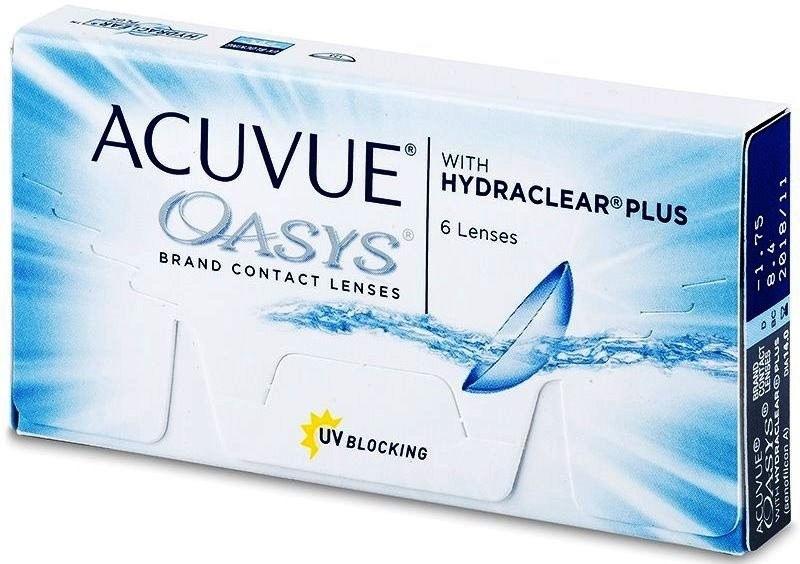 e18b95aa4246f Best Price Acuvue Oasys with Hydraclear (6 Lens Pack) - Lowest Price Online