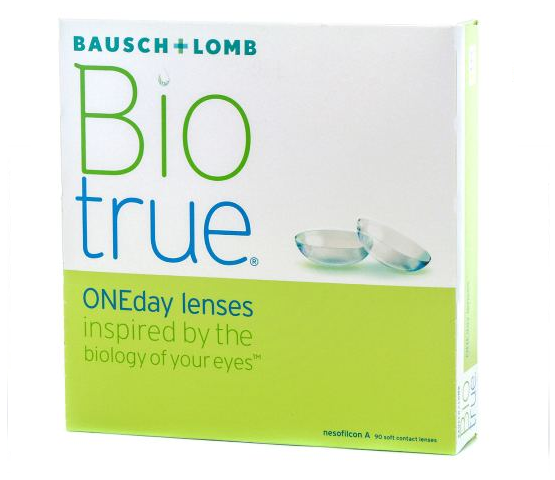 biotrue one day contacts 90 lens pack