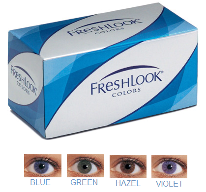 discount price freshlook colors opaque contacts lenses 6pk color