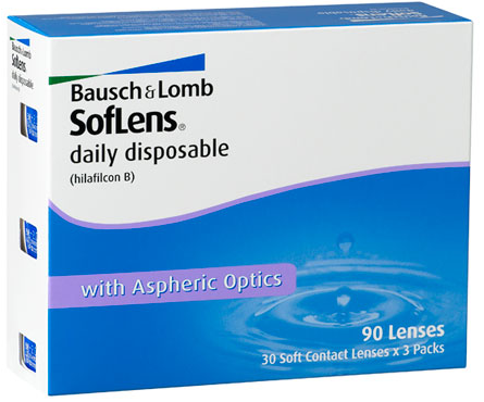 Discount Price Soflens Daily Disposables Contact Lens 90pk