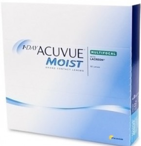 Best Price 1-Day Acuvue MOIST MULTIFOCAL Contact Lenses 90 Pack - Lowest Cost Online