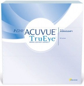 Lowest Price 1-Day Acuvue TRUEYE Contact Lenses 90 Pack - Best Price Online!