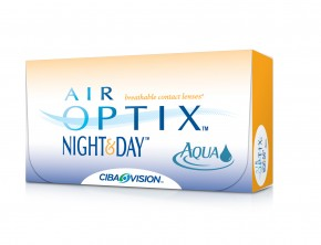 Best Price Air Optix NIGHT & Day Aqua Contact Lenses 6 PK - Lowest Online Price!