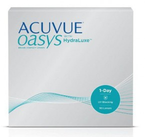 Best Price 1-DAY Acuvue OASYS (with Hydraluxe) 90 Pack - Lowest Online Price!