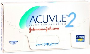 Acuvue 2 Contact Lenes 6 Pack - Best Price