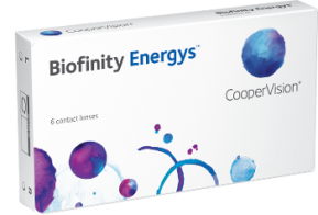Best Price Biofinity Energys Contact Lenses 6 Pack - Lowest Online Price!