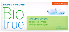 Best Price Biotrue ONEday for Astigmatism Contact Lenses 30 Pack - Lowest Cost