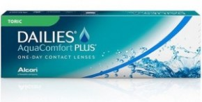 Best Price DAILIES AquaComfort Plus Toric Contact Lenses 30 Pack - Lowest Online Price!