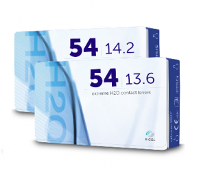 Best Price Extreme H2O 54 Contact Lenses 6 Pack - Lowest Online Price