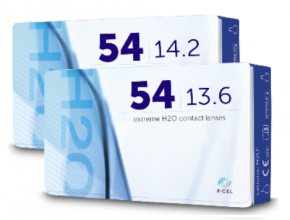 Best Price Extreme H2O 54 Contact Lenses 12 Pack - Lowest Cost