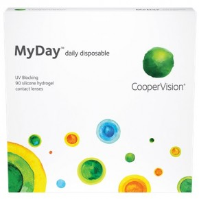Best Price MyDay Contact Lenses 90 PK - Lowest Online Price!