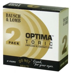 Optima TORIC (2 Lens Pack) Contact Lenses - Best Price