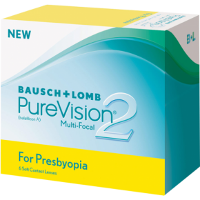 Best Price PureVision 2 for PRESBYOPIA Multifocal Contact Lenses 6 PK - Lowest Online Price
