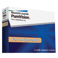 Discount Price PureVision Toric for Astigmatism Contact Lenses 6 Pk - Lowest Online Price!