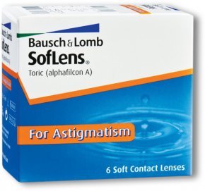 Best Price - SofLens TORIC fof ASTIGMATISM Contact Lenses 6 Pk - Lowest Online Price