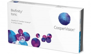 Best Price Biofinity TORIC Contact Lenses 6 Pk - Lowest Online Price!