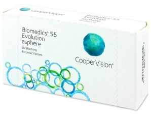 Lowest Price Biomedics 55 Evolution Contact Lenses by CooperVision