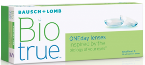 Best Price BioTrue Contact Lenses 30 Lens Pack - Lowest Cost Online