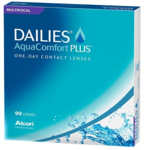 Best Price DAILIES AquaComfort Plus MULTIFOCAL (90 Lens Pack) - by Alcon Ciba Vision