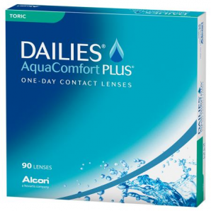 Best Price DAILIES AquaComfort Plus TORIC (90 Lens Pack) - by Alcon Ciba Vision