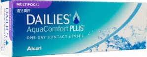 DAILIES AquaComfort Plus MULTIFOCAL Contact Lens 30 Pack - Best Price