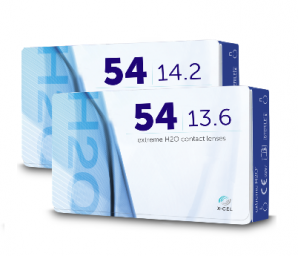 Best Price Extreme H2O 54 Contact Lenses 6 Pack - Lowest Cost Online