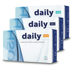 Best Price Extreme H2O DAILY Contact Lenses 90 Pack - Lowest Cost