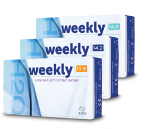 Best Price Extreme H2O WEEKLY Contact Lenses 6 Pack - Lowest Cost (was Icuity)