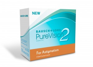 PureVision 2 FOR ASTIGMATISM (Toric) 6 Pack Contact Lens - Best Price