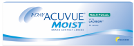 Best Price 1-Day Acuvue MOIST MULTIFOCAL Contact Lenses 30 Pack - Lowest Cost Online