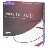 Best Price Dailies Total 1 Multifocal Contact Lenses (90 pk) with Water Gradient