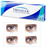 Best Price FreshLook One Day Colors Blue, Green, Gray & Pure Hazel - Lowest Online Price!