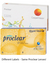Lowest Price Proclear SPHERE (COMPATIBLES) Contact Lenses (8.2 BC)