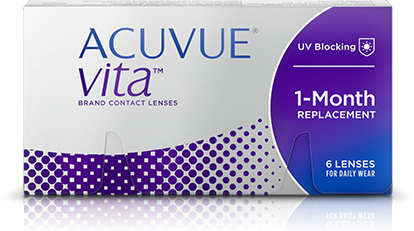 Acuvue Vita With Hydramax Contacts 6 Lens Pack