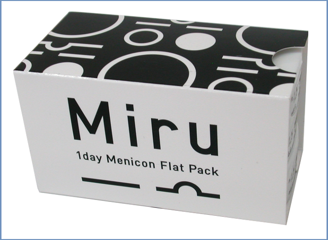 Best Price MIRU Contact Lenses 1 Day Flat Pack - by Menicon