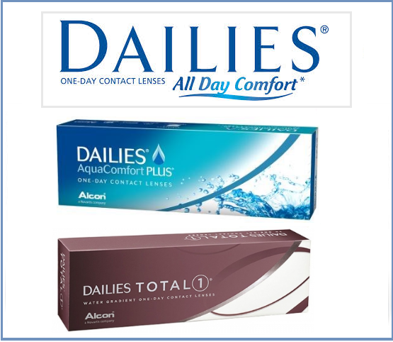 Best Price DAILIES ONE-DAY Contact Lenses - DAILIES AquaComfort, DAILIES Total 1, Focus DAILIES, DALIES Multifocal & DALIES Toric